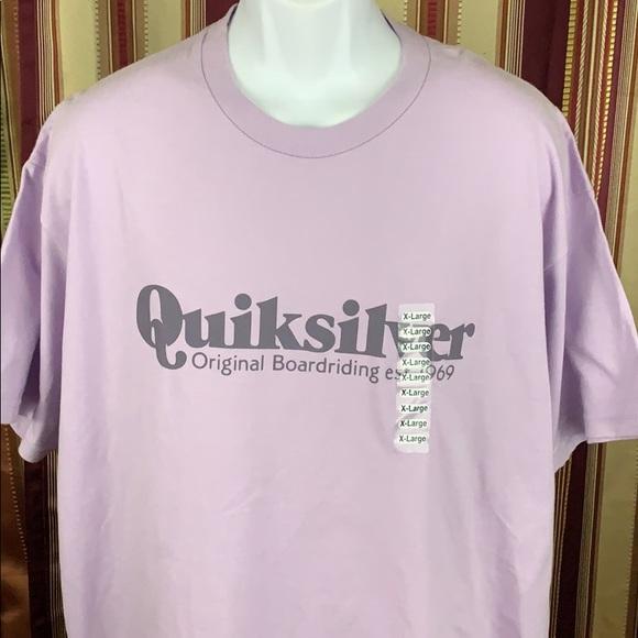 Quiksilver Mens Originals Quik Check Hoodie Tee